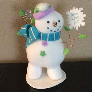 Hallmark Snow What Fun Collectible